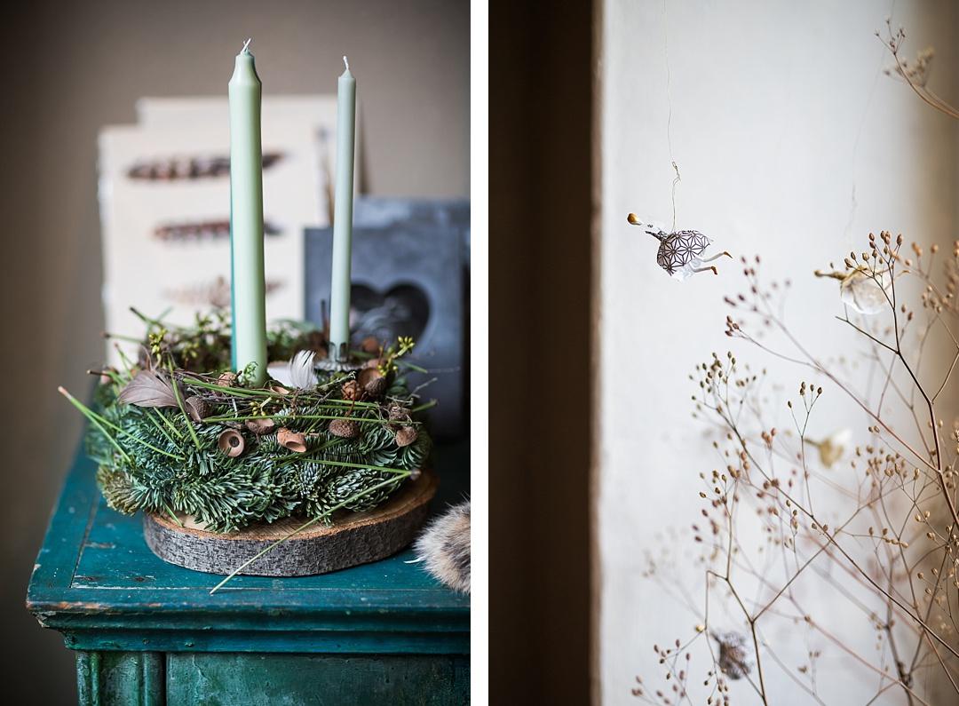 Adventsausstellung Blumenbinderei